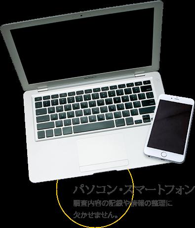 古文書解読七つ道具 パソコン・スマートフォン
